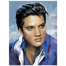 цена на Needlework Diy Diamond Painting Cross Stitch Elvis Presley 100% Full Square Diamond Embroidery Mosaic Crafts CF339