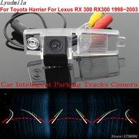 Lyudmila Car Intelligent Parking Tracks Camera FOR Toyota Harrier For Lexus RX 300 RX300 1998~2003 Car Reverse Rear View Camera