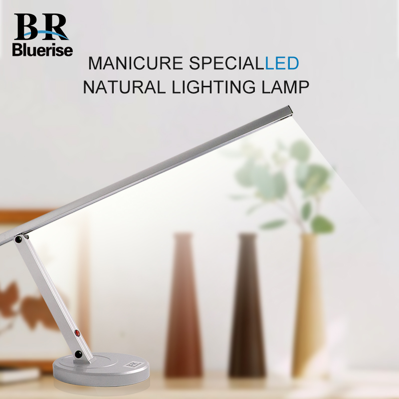 Nail Manicure LED Table Lamp Foldable Desk Working Lamp Eye Care Light Professional Beauty Salon Equipment Machine Nail Tools цена