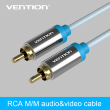 Vention Jack 1 RCA Audio Cable to 1 RCA Aux Cable for Edifer Home Theater DVD VCD iPhone Headphones
