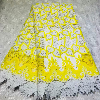 African Lace Fabric 2019 Embroidered Nigerian Laces Fabric Bridal High Quality French Tulle Lace Fabric For Wedding 2L13-89