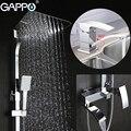 GAPPO Смесители для ванны ванная комната кран латунный бассейна смесителя Водопад струйный смеситель для ванны