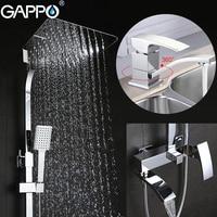 GAPPO Bathtub Faucets bathroom tub Faucet brass basin faucet basin mixer tap waterfall bath tub mixer