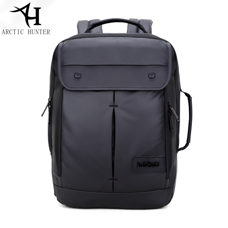 ARCTIC HUNTER Black Fashion Laptop Backpack Men back bag Backpacks Waterproof men travel bags mochila feminina escolar logo messi backpacks teenagers school bags backpack women laptop bag men barcelona travel bag mochila bolsas escolar