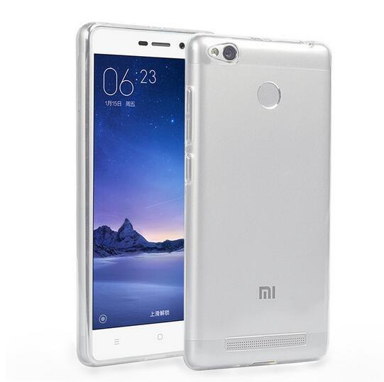 Xiaomi Redmi 3S Case Redmi 3 Pro Cover Liquid Crystal Clear Case For Xiaomi Redmi 3S 3 Pro S Case Air Skin w/ 2 Tempered Glass