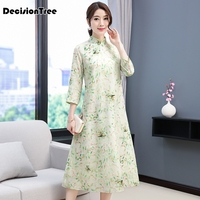 2019 summer traditional vietnam ao dai elegant long dress women cheongsam chinoise modern cheongsam party dresses qipao set