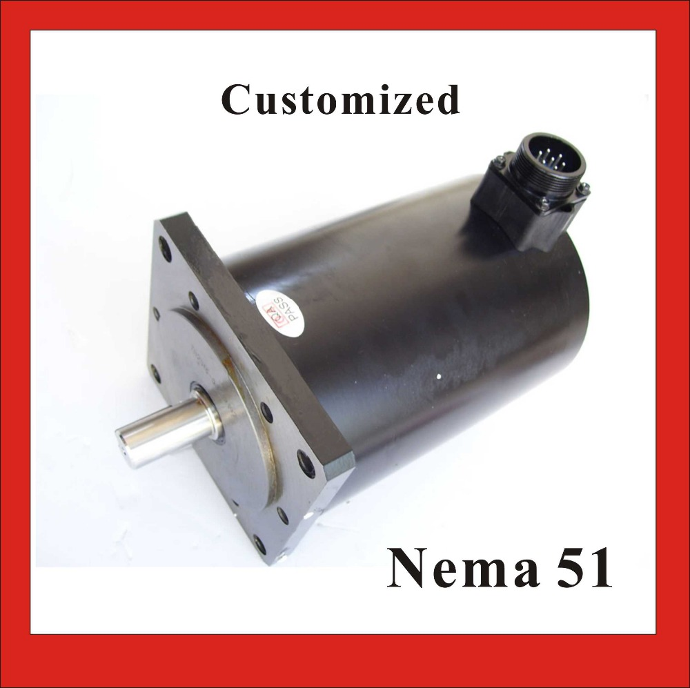 цена на High Torque NEMA 51 Stepper Motor 3 Phase 1.2 degree 37N.m (5139oz-in) Body Length 232mm CE ROHS CNC Stepping Motor