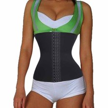 4 Steel Boned Waist Trainer and Body Control Waist Corset Slimming Belt Plus Size Waist Trainer Cincher Tummy Fat Burner Girdles