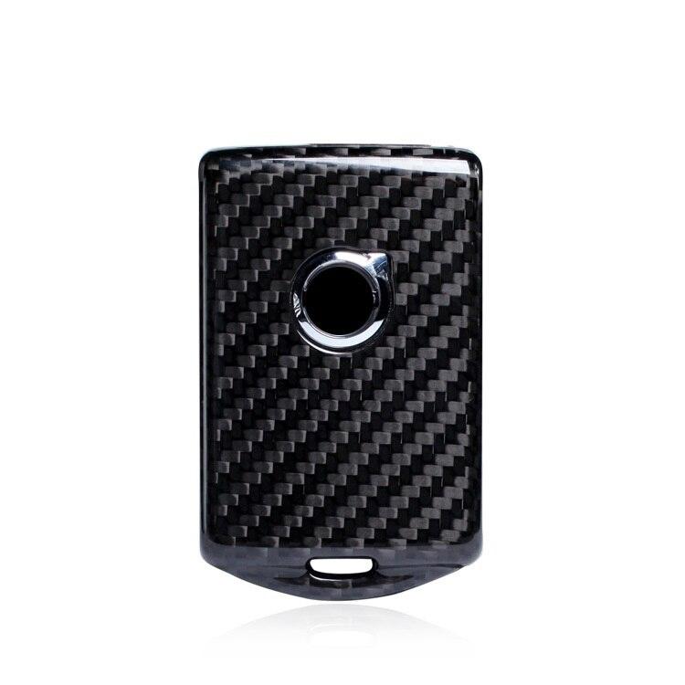 Car Key Case Shell Keyring Carbon Fiber for Volvo XC60 XC90 S90 V90 2018 2019 Accessories Car StylingCar Key Case Shell Keyring Carbon Fiber for Volvo XC60 XC90 S90 V90 2018 2019 Accessories Car Styling