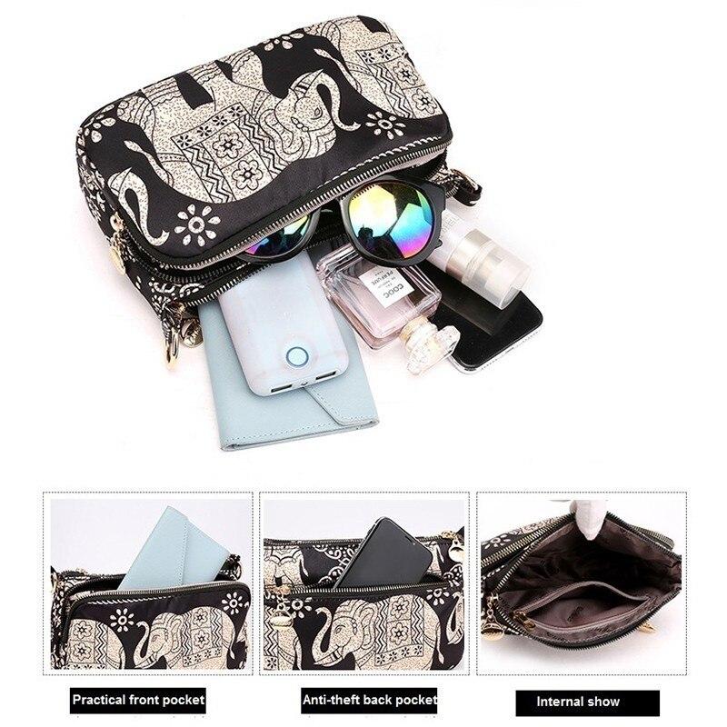 Printing Women Shoulder Bag Ladies Handbags Quality Brand Messenger Bags Female Small Tote Crossbody Bag Leisure Bolsa Feminina 36