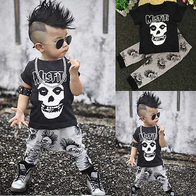 Fashion Baby Boy Clothes Sets Summer Short Sleeve Toddler Kids Tracksuit Casaul Tops Long Pants 2pcs Outfits Sets toddler kids baby boy girls summer clothes sets christmas batman outfits tops long pants 2pcs casual clothes set 2016 newest