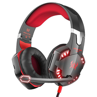 Kotion EACH G2000 Gaming Headphone Best Cesque Gamer Bass Sound Game Headset With Mic LED Light
