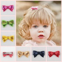 Glitter Girls Bows Barrettes Fashion Hair Hairpins for Baby Children Headband Party Acceesory