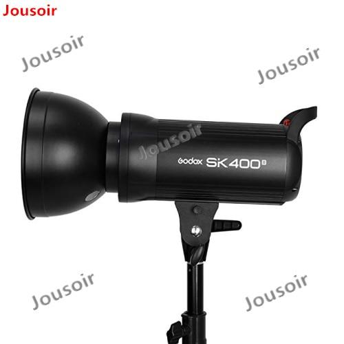 Godox sk400ii 400ws gn65 profissional studio strobe com built-in 2.4g sem fio x sistema oferece tiro sk400 atualização cd50