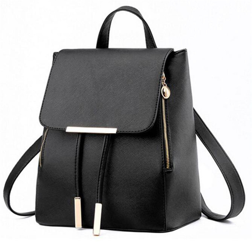 2017Fashion Backpack Women Leather Backpack Schoolbag Rucksacks Mochilas for Travel Shoulder Bags Satchel Bags Bolsa Feminina A8