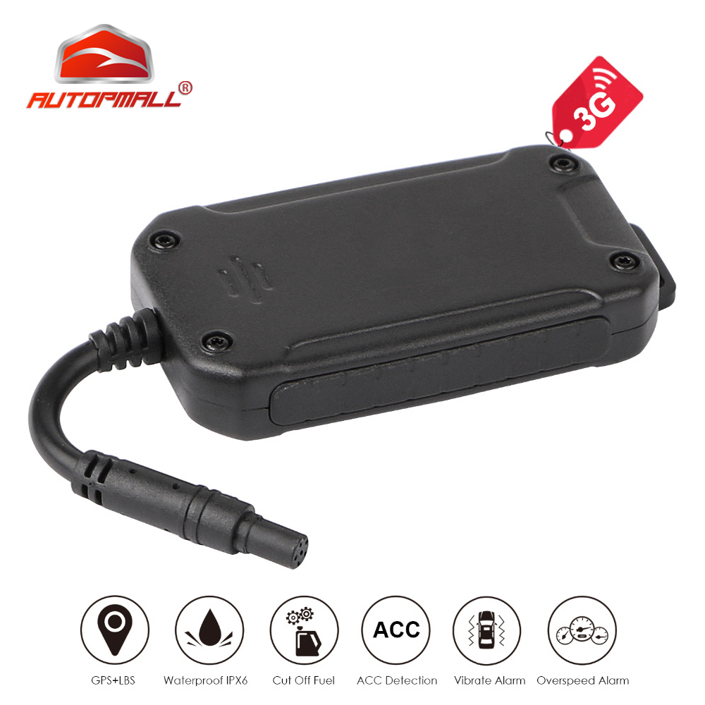 3G GPS Tracker WCDMA GSM Car Vehicle Tracking Device Motorcycle GPS Locator Waterproof Real Time Tracking
