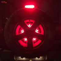 The Newest Tire Brake Rear Light For Wrangler JK 07 16