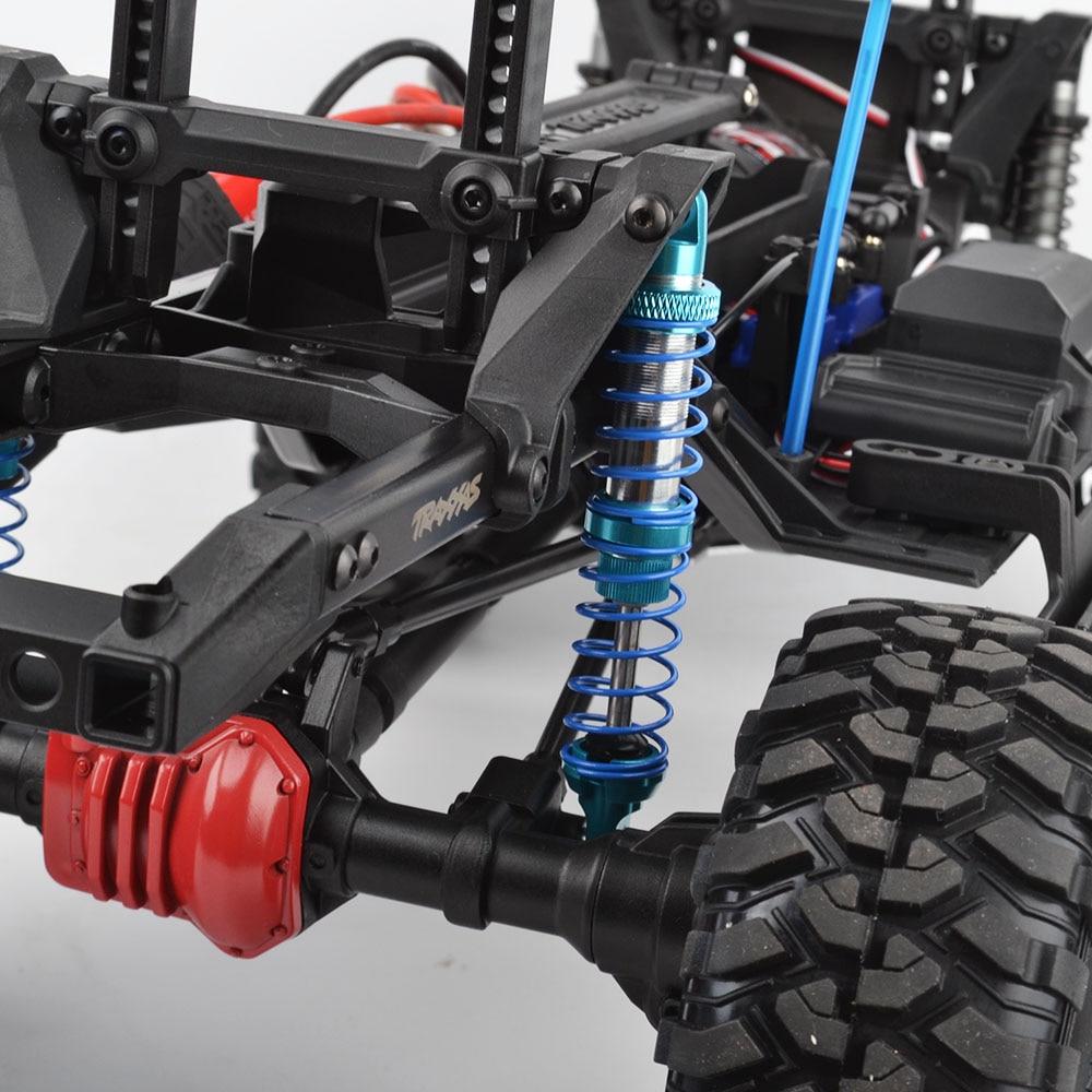 4pcs Oil Adjustable 90mm&100mm Shock Absorber Damper for Traxxas TRX-4 Axial SCX10 D90 1/10 Rc Crawler Car shock absorber 100mm for jeep wrangler axial scx10 1 10 rc car crawler upgraded alloy aluminum damper hop up parts 2pcs a pair