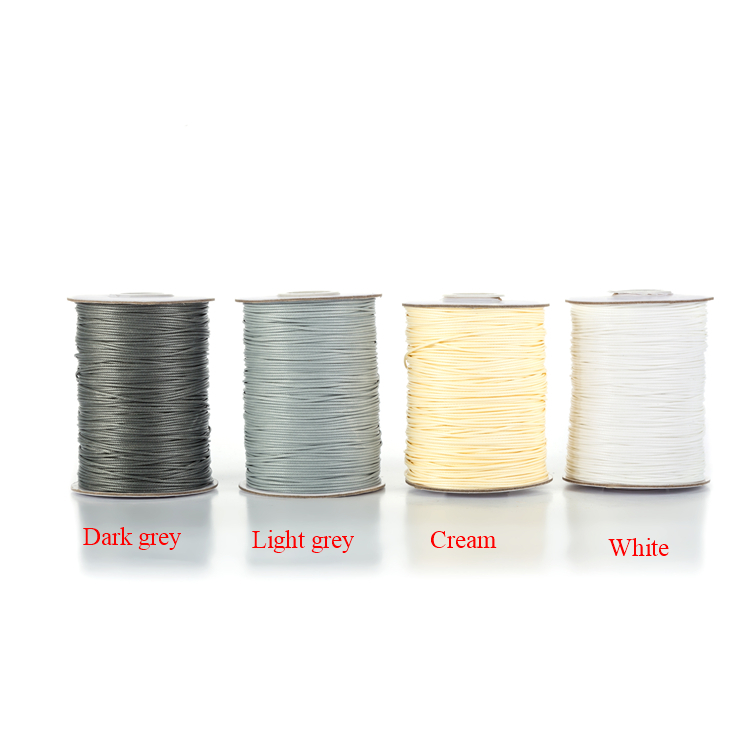 0 5mm 90 Yards Colorful Waxed Cords Threads Rope for Beading Project Jewelry Diy Jewelry Making Jewelry Accessories Findings in Jewelry Findings Components from Jewelry Accessories
