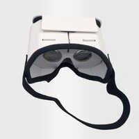 Diy óculos de realidade virtual portátil google papelão 3d óculos vr para smartphones para iphone x 7 8 vr