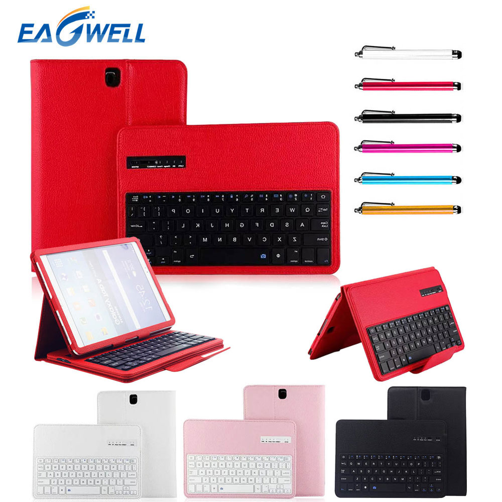 Wireless Bluetooth Keyboard PU Leather Case Stand Cover For Samsung Galaxy Tab S3 9.7inch T820 T825 Tablet Protective Case Shell блуза silver string silver string si021ewwnp34