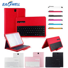 Wireless Bluetooth Keyboard PU Leather Case Stand Cover For Samsung Galaxy Tab S3 9.7inch T820 T825 Tablet Protective Case Shell