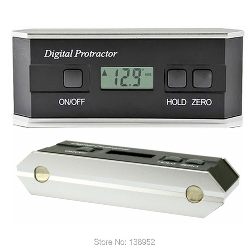 Electronic Angle Instruments : Digital protractor inclinometer angle finder degree