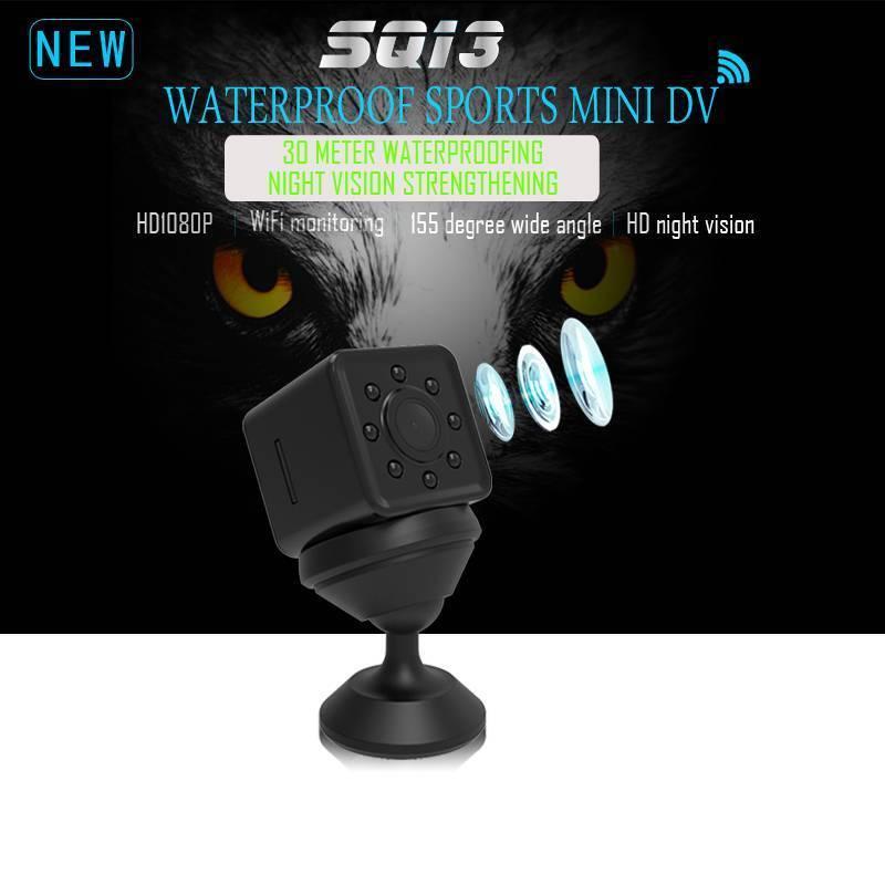 32 GB carte + SQ13 WiFi DVR enregistreur 2 K Photo Vision nocturne Mini caméra 1080 P à distance