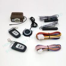 PKE Автомобильная сигнализация кнопочная Кнопка старта стоп, Пассивный вход без ключа, удаленный запуск двигателя, автоматическая блокировка двери автомобиля, без сирены HY-903E RM2A