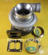 "T70 T04Z T4 gasket flange .84 A/R compressor housing .70 A/R water&oil cooled 4"" v-band 400hp-500hp turbo turbine TurboCharger(China)"