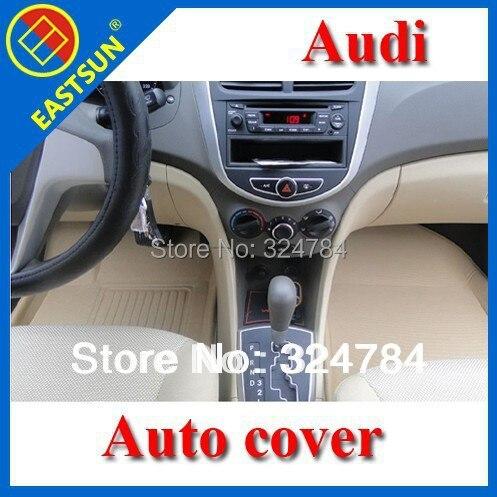 EASTSUN Univeral A6 A6L A5 A8L Q5 Black Beige Grey XPE+TPR Material AUTO Car Floor Mat Carpet Free Shipping