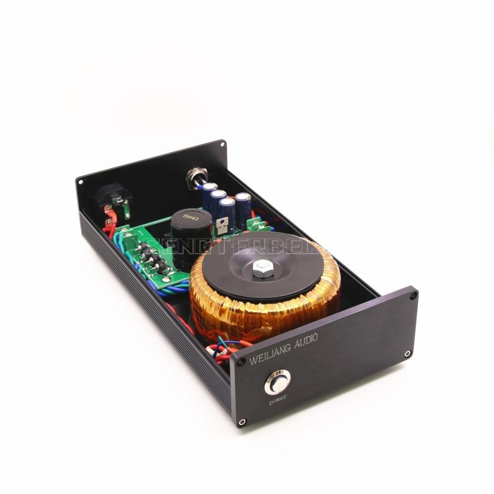 Черный 120VA DC Линейный Питание постоянного тока выход 5V 9V 12V 15V 18V 24 V, Hi Fi, БП можно выбрать
