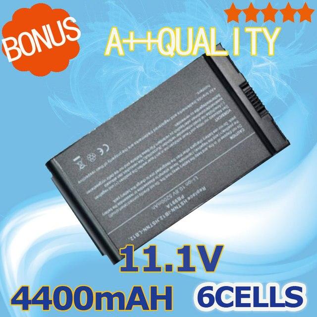 4400mAh 10.8V laptop battery For HP Compaq NC4200 NC4400 TC4200 TC4400 381373-001 383510-001 HSTNN-IB12 HSTNN-UB12 PB991A