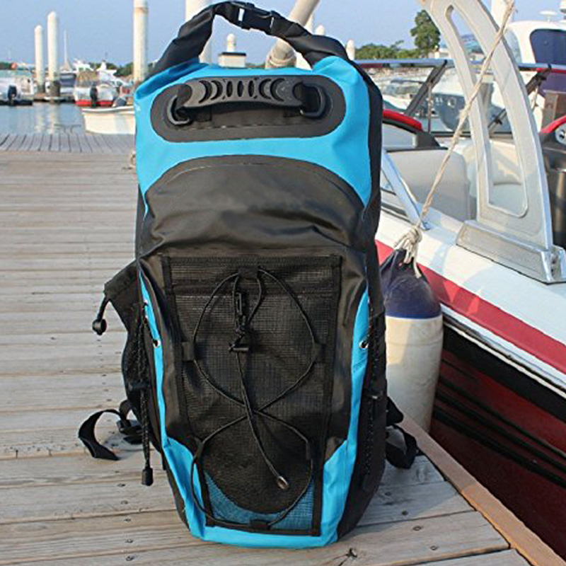 Sac à dos étanche 30L sac de natation sac à bandoulière réglable sac à bandoulière flottant pour la voile - 2