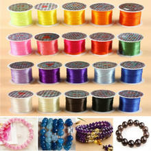 Strong Elastic Stretchy Beading Thread Cord Bracelet String For Jewelry Make Rope for Necklace Bracelet Jewelry Making Supply(China)