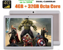 Original BMXC tablet 1920X1200 IPS de 10 pulgadas 4G LTE octa core 4 GB 64 GB tablets Dual SIM Android 6.0 Tablet 10 10.1 + Regalos