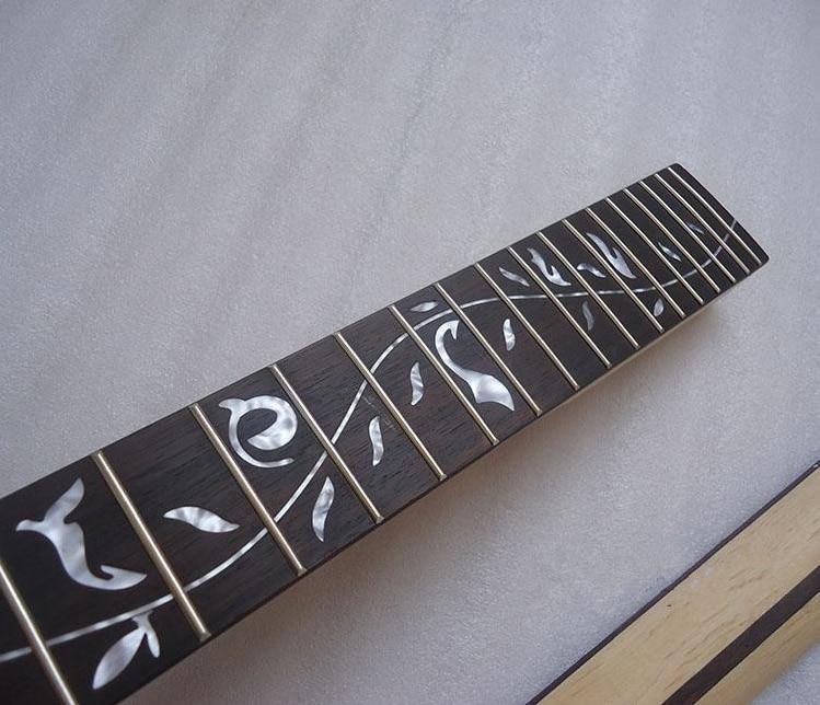 disado Muziekinstrumenten 22 Frets inlayTree of Life esdoorn - Muziekinstrumenten - Foto 4