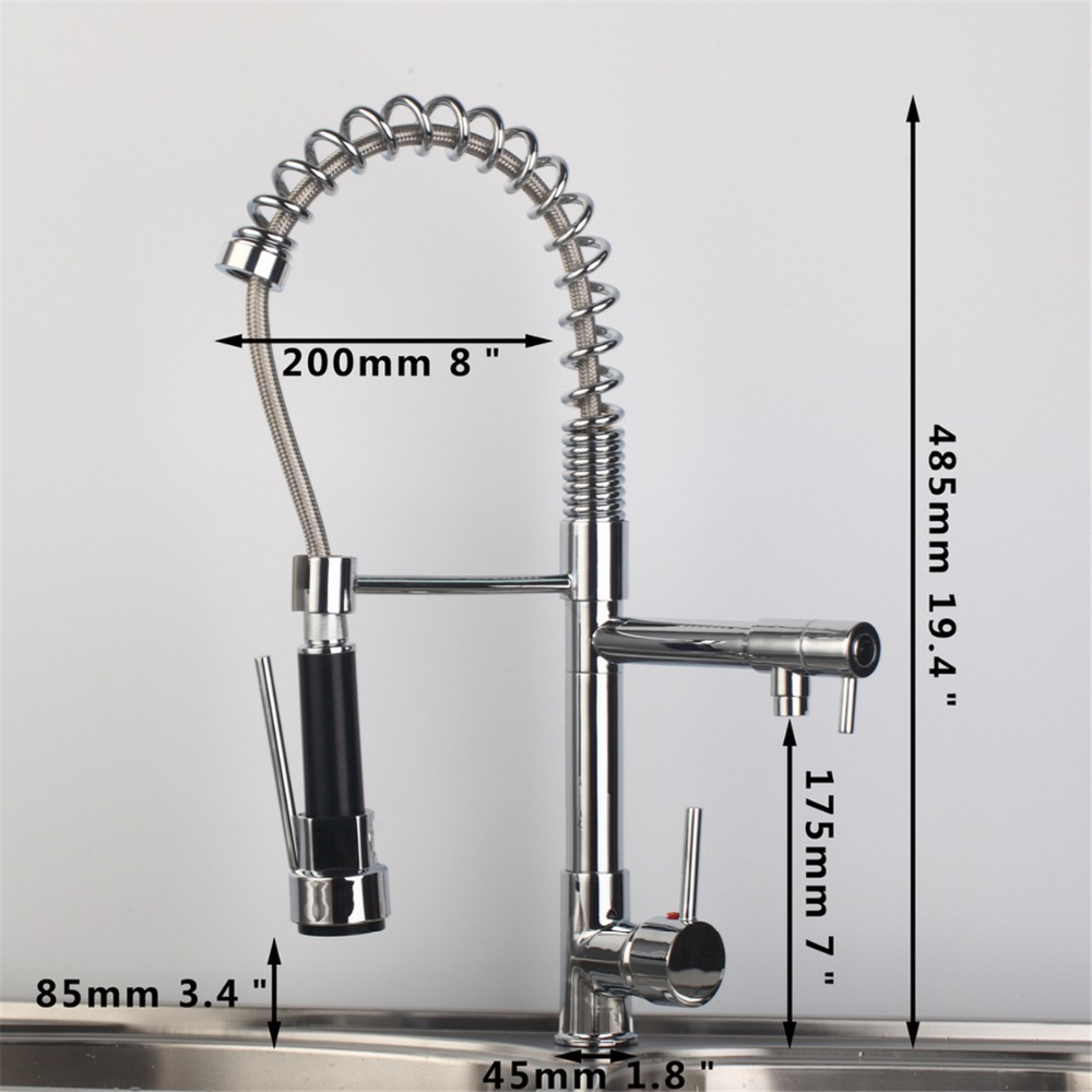 compare prices on kitchen hole online shopping buy low price polish chrome kitchen faucet modern kitchen mixer tap stainless steel china mainland