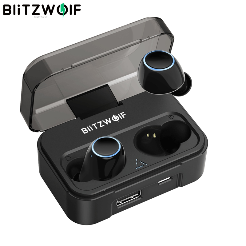 Blitzwolf BW FYE3 FYE3S bluetooth V5 0 Touch Sensitive True Wireless Earphone HiFi Stereo Bilateral Calls
