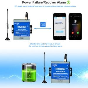 Image 4 - GSM Modbus RTU אנלוגי מתמר 0 5V כוח מתח ניטור אזעקת הפסקת חשמל מערכת עם SMS התראה RTU5027V
