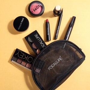 Image 5 - FOCALLURE 8 PCS Makup Tool Kit Moet Hebben Cosmetica Inclusief Glitter Oogschaduw Matte Lippenstift Blush Mascara Met Make Up Tas