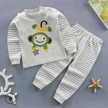 Kids Boys /Girls Sleepwear Pyjamas Children Baby Organic Cotton Pajamas for baby