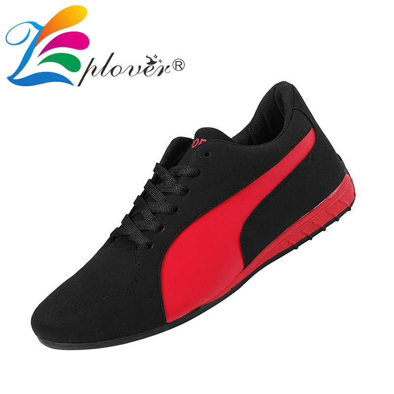 4b8350ed448ee Zplover Mens Shoes Casual Spring Autumn Mens Sneakers Casual Flat Shoes Men  High Quality Lace up