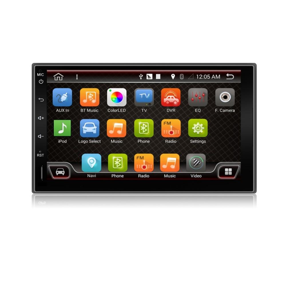 2din NO DVD car dvd HD Digital TV(optional)Car CD Navigation GPS Player Stereo SD USB In Dash Radio Media DVB-t ISDB-t SD Map PC usb 20 software radio dvb t