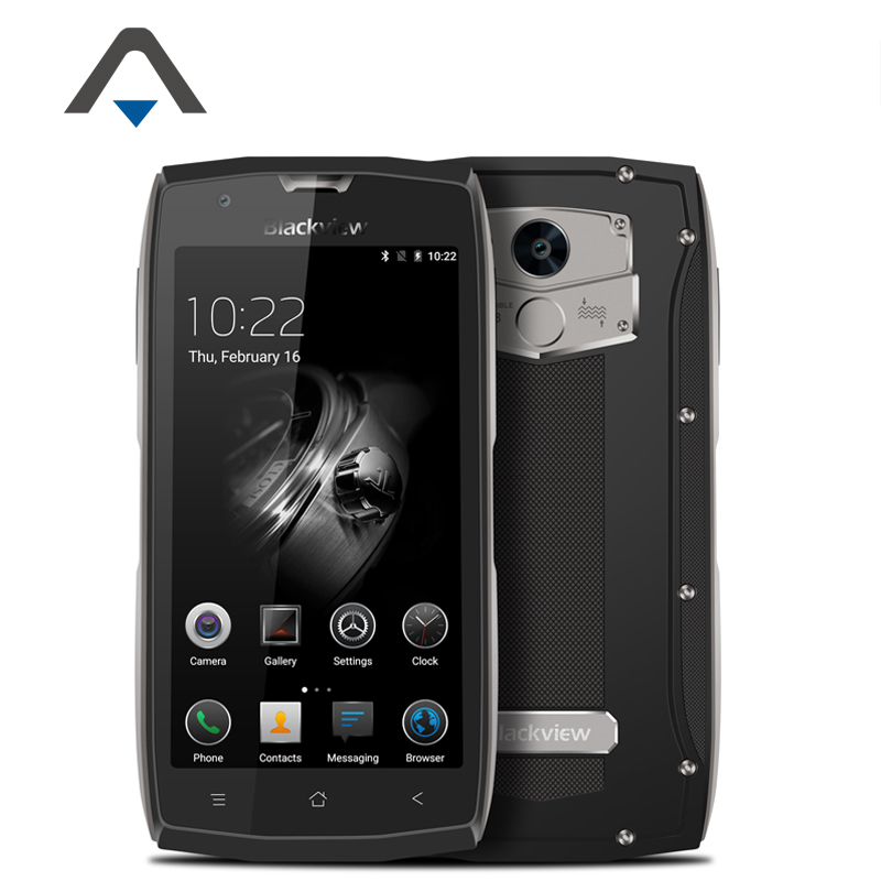 Original Blackview <font><b>BV7000</b></font> Pro Mobile Phone <font><b>IP68</b></font> Waterproof <font><b>SmartPhone</b></font> 5&#8243; RAM 4G ROM 64G MT6750T Octa Core 13MP Fingerprin ID GPS