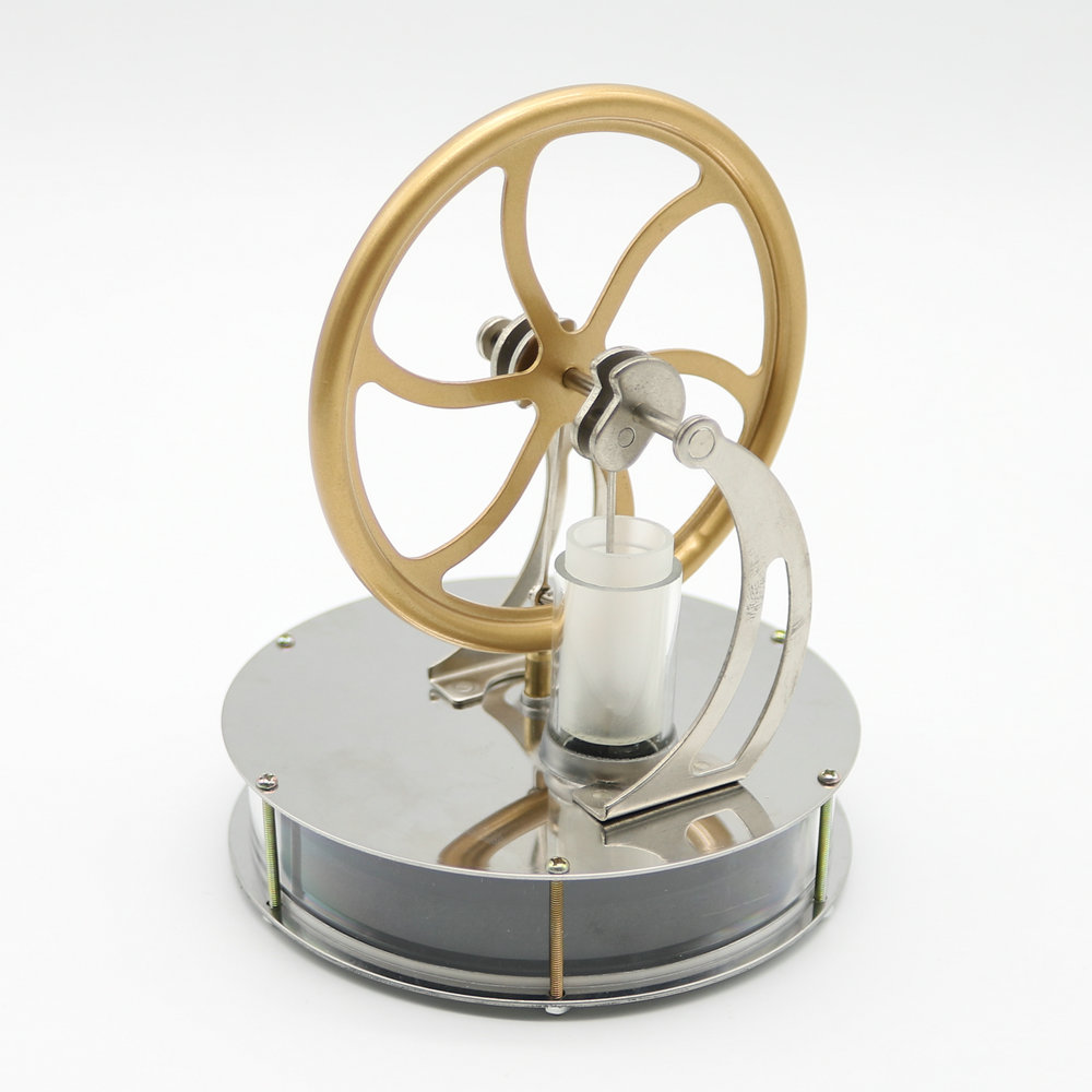 Hot Discovery Toys Sale Low Temperature Stirling Engine Motor Model Steam Heat Education Toys Gift For Kid Free shipping stirling engine model science education toys birthday gift toys intellectual development toy