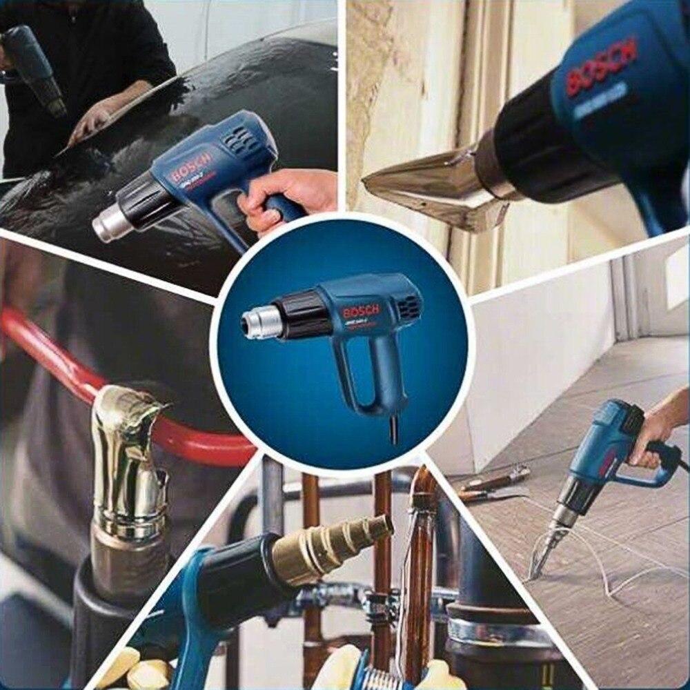 цена на NEW 2000w 220V/110v Industrial Electric Hot Air Gun Thermoregulator Heat Gun Shrink Wrap Digital Thermostat LCD DIY