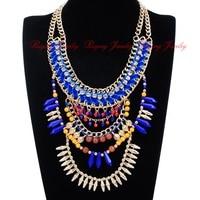 לחג מולד אופנה שרשרת קולר שמירה על תליון קסם אתני שבטי שרשרת זהב