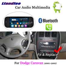 Liandlee автомобильная система Android для Dodge Caravan 2001~ 2007 Радио Стерео Carplay Wifi gps Navi Карта Навигация HD экран мультимедиа