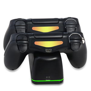 Image 5 - Wireless Charger สำหรับ PS4/PS4 Slim/PS4 Pro LED แท่นชาร์จแบบ Dual สำหรับ PS4 Controller Charge สำหรับ sony PlayStation 4 Pro P4